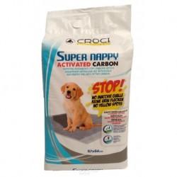 Návyková podložka Super Nappy-Carbon-30ks-57x54cm-8172C