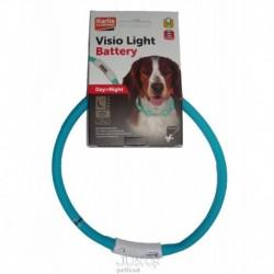 Karlie LED obojek na baterie modrá 70 cm