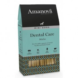 Amanova Dog Snack DENTAL CARE Sticks MINI 110g-13352 Exp 9/18