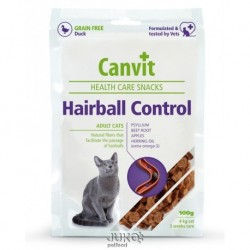 Canvit Snacks CAT Hairball Control 100g-12850