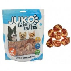 JUKO SNACKS Duck & Codfish chips 250 g