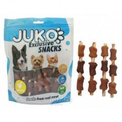 JUKO SNACKS Chicken & Duck & Liver wrap rawhide 250 g