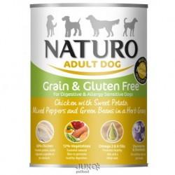 Naturo Dog Chicken-Sweet Potato 390g-konzerva-13312