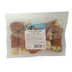 Buvolí kost s kuřecím masem JUKO Exclusive Snacks 7,5 cm (10 ks)