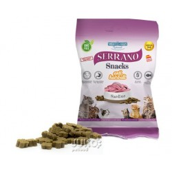 Serrano Snack for Cat-Sardine-AntiHairball 50g-12ks-AKCE 10%-14573