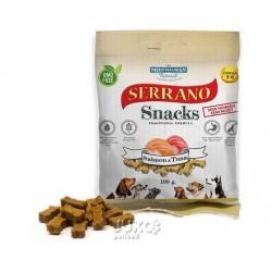 Serrano Snack for Dog Salmon & Tuna 100 g (12 ks) AKCE 10 %