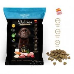 Delicias Puppy SEMI-MOIST-Soft 800g-poloměkké krmivo-8ks-AKCE 10%-14586