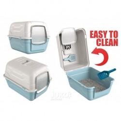 WC s filtrem a lopatkou RotoToilet