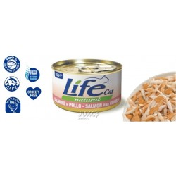 LifeCat Salmon and Chicken 85 g