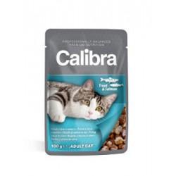 Calibra Cat kapsa pstruh a losos v omáčce
