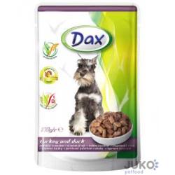 Dax kapsa DOG KRŮTA+KACHNA 100g-11989