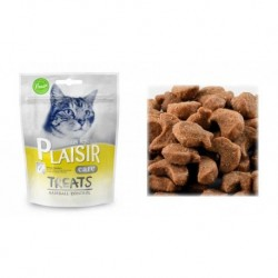 Plaisir Care Cat Treat pamlsek 60g Hairball-13665-Exp 6/2019