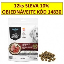 Tapas Gourmet snack for Dog Lamb and Beef 190 g (12 ks) AKCE 10 %