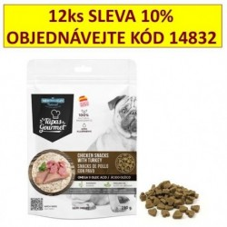 Tapas Gourmet snack for Dog Chicken and Turkey 190 g (12 ks) AKCE 10 %