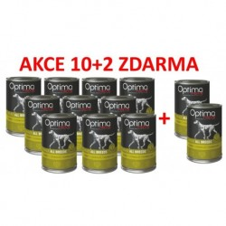 Optimanova Dog Rabbit Grain free 400g-konzerva-14885
