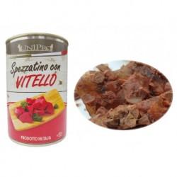 Spezzatino con Vitello 400g-pes-s telecím v želé-13265