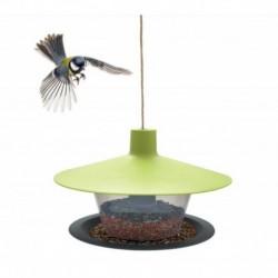 Krmítko Finch-Talíř venkovní plast-zelená-14001