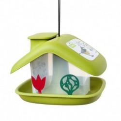 Krmítko Chalupa venkovní plast-zelená-14003