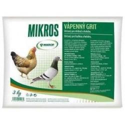 Vápenný grit Mikros 3 kg