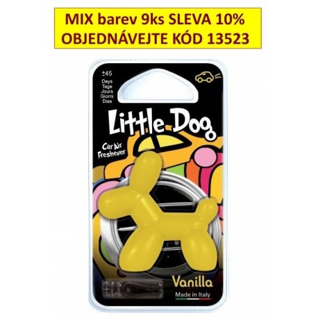 Osvěžovač vzduchu Little Dog Vanilla