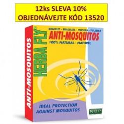 Herba Fly Anti Mosquitos-náramek proti komárům-13435-Expirace 6/2019-Sleva
