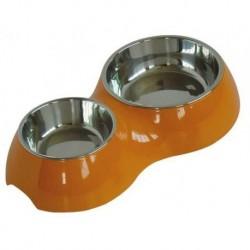 Dvojmiska VANITY 160+350ml oranžová-0878C-AKCE 40%