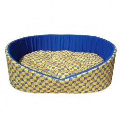 Pelíšek molitan č.8-78x64x25cm-3601 různé dekory