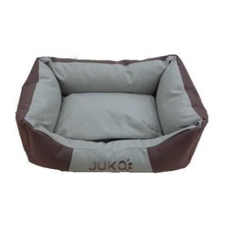 Pelíšek odolný JUKO M:65x51x18cm-Hnědá-13807
