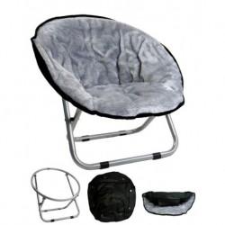 Relaxační křeslo šedá
