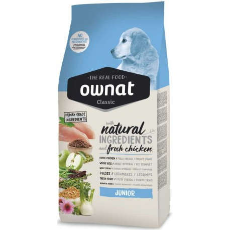 OWNAT Dog Classic Junior 4kg-14071