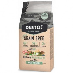 OWNAT Dog JUST GRAIN FREE Adult Chicken 3kg-14671