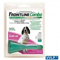 Frontline Combo spot-on pes L 20-40 kg