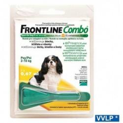 Frontline Combo spot-on pes S do 10kg