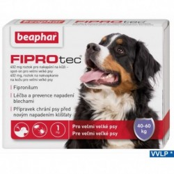 a.Beaphar FIPROTEC Spot-On 402MG 1XDOG-XL-40-60kg-14146