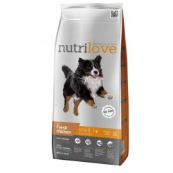 Nutrilove pes granule ADULT Large fresh kuřecí 3kg-13200