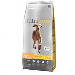 Nutrilove pes granule ACTIVE fresh kuřecí 3kg-13204