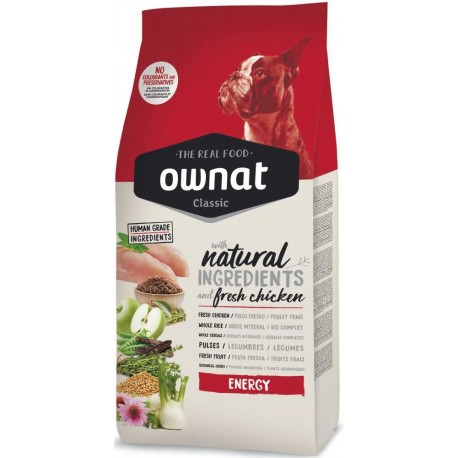 OWNAT Dog Classic Energy 4kg-14073