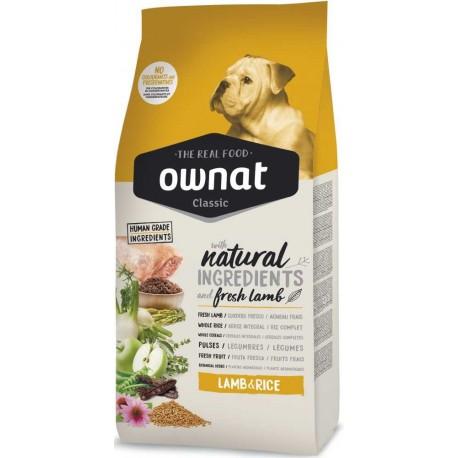 OWNAT Dog Classic Lamb&Rice 15kg-14070