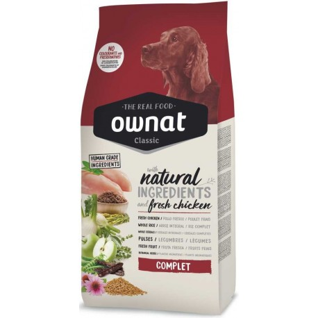 OWNAT Dog Classic Complet 4kg-14065