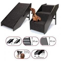 Schody/rampa 2v1 pro psy/kočky Croci-0995C-OBJ