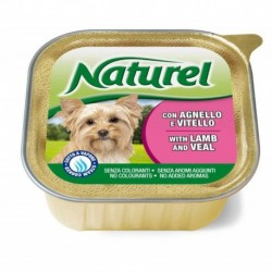 Naturel dog vanička Lamb&Veal 150g-030022