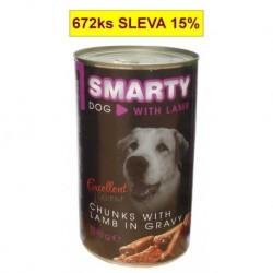 SMARTY chunks DOG 1240g LAMB-jehně-7748