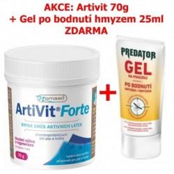 Nomaad Artivit Forte-prášek 70g+Predator Gel 25ml-ZDARMA-13386