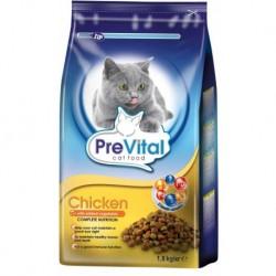 PreVital granule kočka kuřecí+zelenina 1,8kg-11200