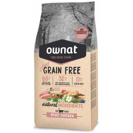OWNAT Cat JUST GRAIN FREE Adult Chicken 1kg-14677