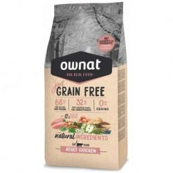 OWNAT Cat Just Grain Free Adult Chicken 3 kg AKCE 20%