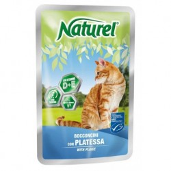 Naturel cat pouches PLAICE 100g-033045