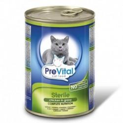 PreVital kočka sterilní kuře, kousky 415 g