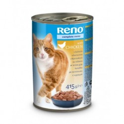 RENO Cat kuře, kousky 415 g
