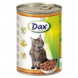 Dax Cat kousky drůbeží 415 g